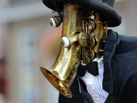 The Saxophone Man - Teatro Pachuco