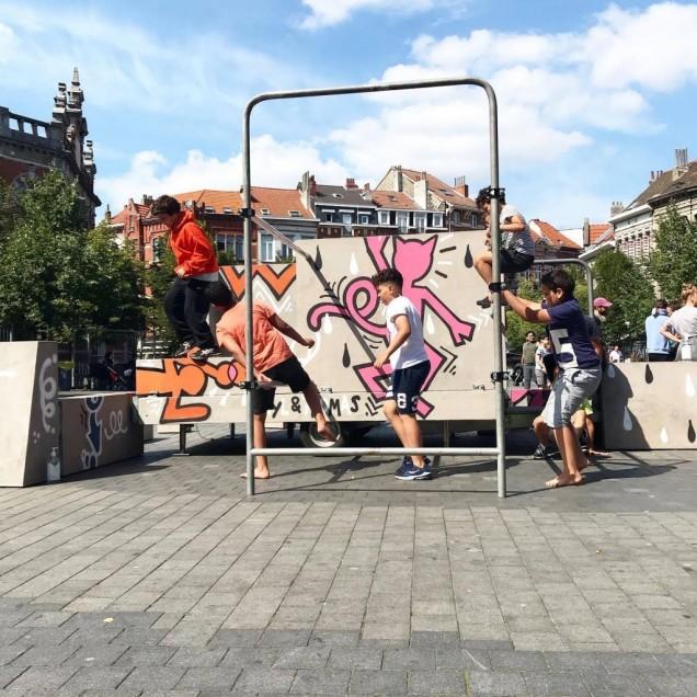 Circus Zonder Handen meets Keith Haring - Circus Zonder Handen