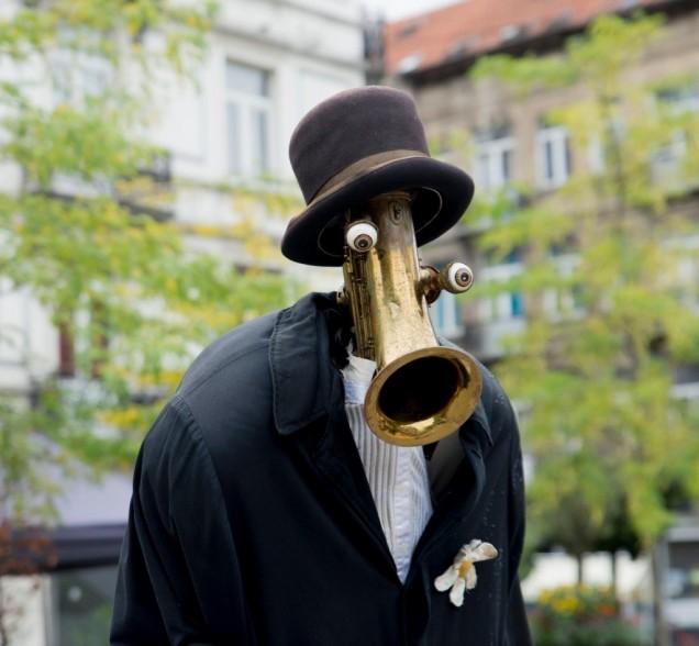 Saxophone Man - Teatro Pachuco