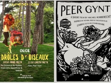 Drôles d'oiseaux - performance & cinema - KNEPH: 06.08