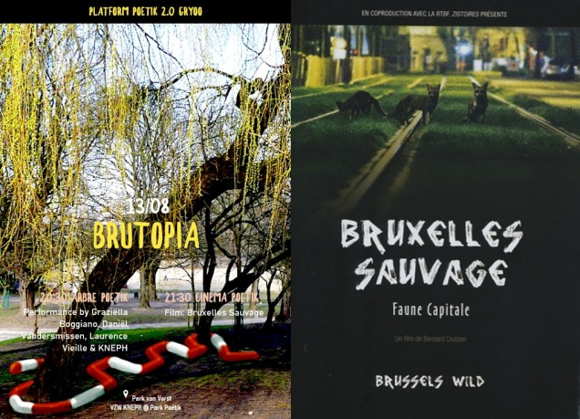 Brutopia - performance & cinema - KNEPH: 13.08