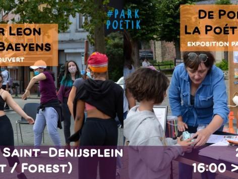 Saint-Denis Poétik | Atelier Leon + La Poéthèque : 20.08