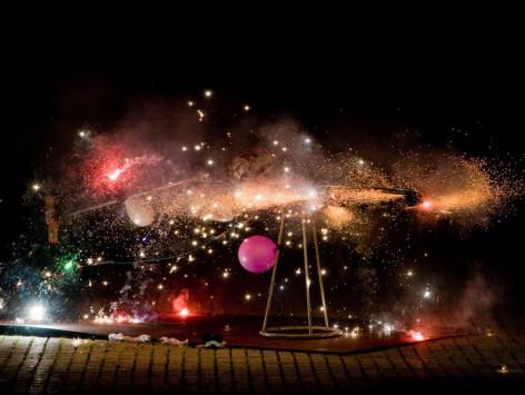 Cérémonie du feu : KNALDRANG + MASSAGRAF : 21.08