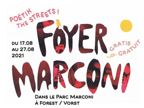 Foyer Marconi WEEK 2 : program 23.08 - 27.08